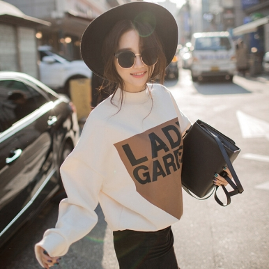 2016-spring-loose-casual-letter-print-small-stand-collar-batwing-sleeve-thickening-font-b-oversized-b
