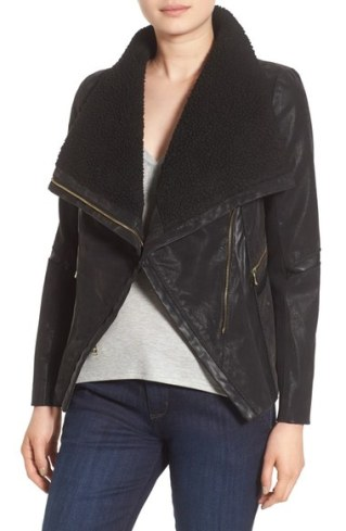 Guess-Faux-Leather-Moto-Jacket-with-Faux-Shearling-Trim