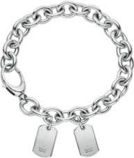 Gucci Dog Tag Bracelet